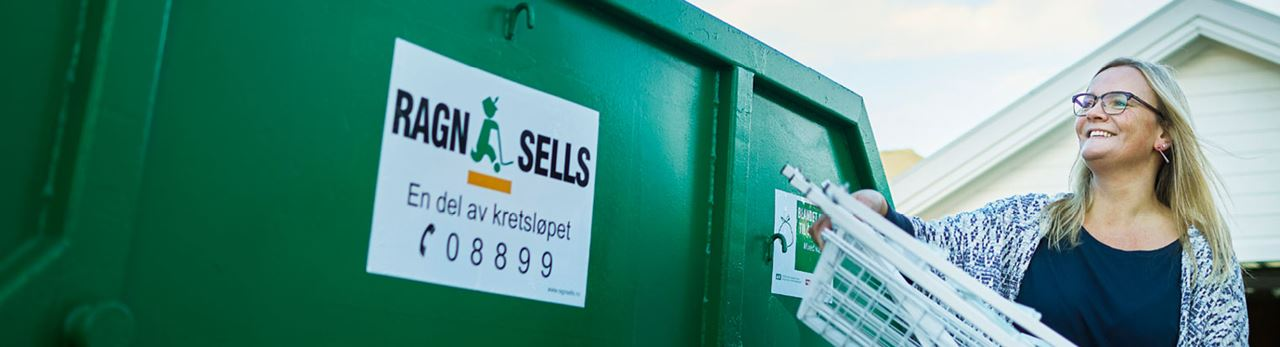 Containerutleie fra Ragn-Sells.