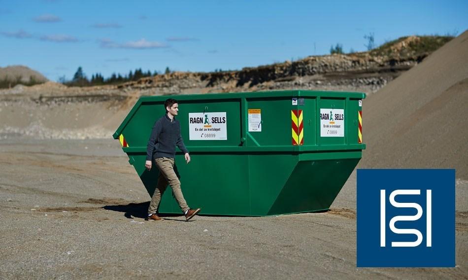 Containerutleie - 10m3 til isolasjon.